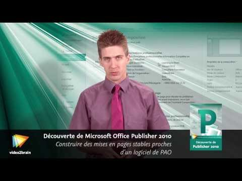 Découverte de Microsoft Office Publisher 2010 : trailer | video2brain.com
