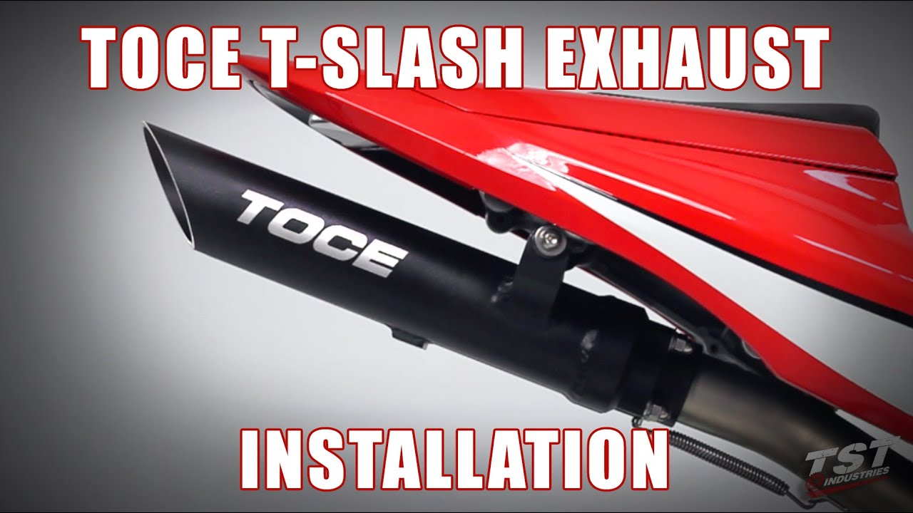 How To Install Toce Performance T Slash Exhaust On A 2007 2012 Honda Cbr600rr By Tst Industries