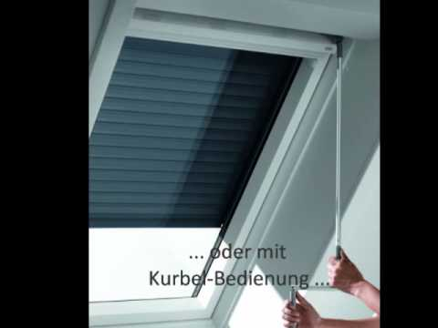 velux rollladen youtube. Black Bedroom Furniture Sets. Home Design Ideas