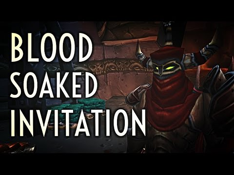 Wow Guide Blood Soaked Invitation 7 1 5 Brawlers Guild Youtube