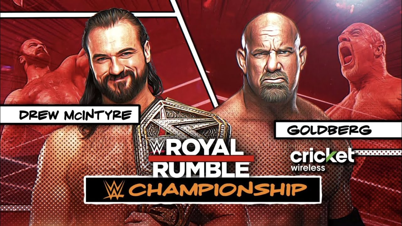 WWE Royal Rumble 2021 Official Match Card Predictions