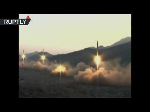 RAW: North Korea test launches 4 ballistic missiles