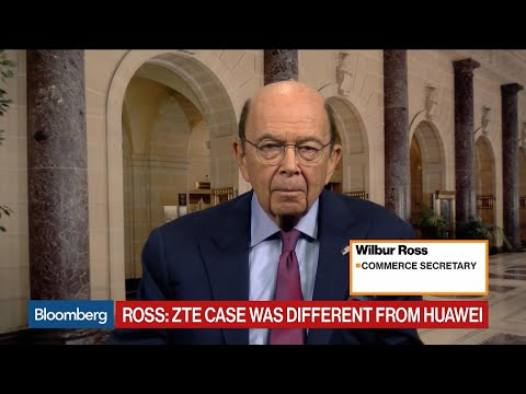 Huawei Action Not Part of China Trade Talks, Commerce Sec. Ross Says
