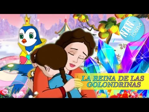 LA REINA DE LAS GOLONDRINAS | pelicula completa en espaol | dibujos animados | cuentos infantiles