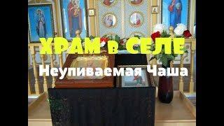 Храм в селе // ОБЗОР // Икона Неупиваемая чаша