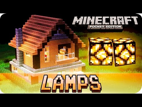 Minecraft PE - Floor Lighting Using Redstone Tutorial! 0.14.0 / 0.13 MCPE
