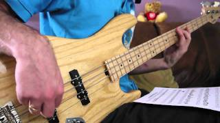 Jamiroquai - Emergency on Planet Earth - Bass Lines Transcription Demo