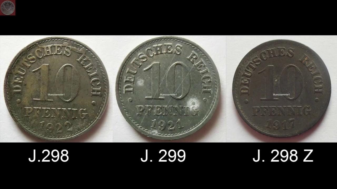 Seltene Fehlprägung Aus Dem Kaiserreich 10 Pfennig 1917 Youtube