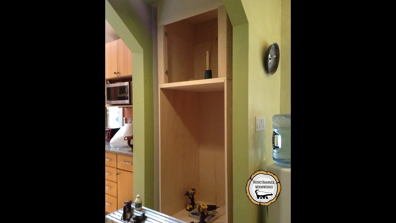 Woodworking : Built In Wall Oven Cabinet // How To Part 1