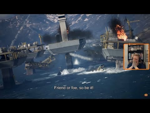 Reaction to the 2018 Gamescom trailer of Ace Combat 7
