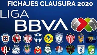 TODAS las ALTAS y BAJAS OFICIALES de CADA EQUIPO en la LIGA MX para el torneo CLAUSURA 2020