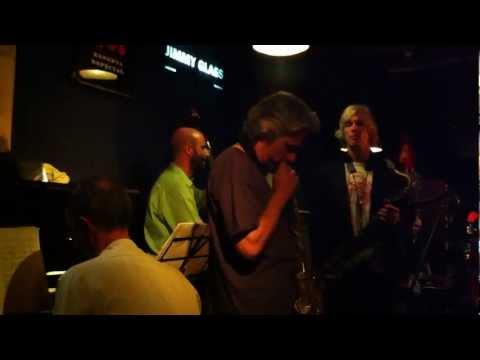 Grant Stewart Quartet at Jimmy Glass Jazz Bar - Guest: Perico Sambeat