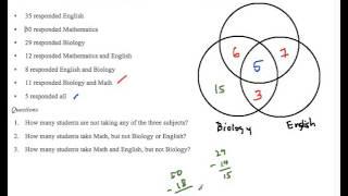 Venn Diagrams in Solving Math Word Problems Part 3
