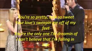 Blake Shelton and Danielle Bradbery-Timber,I'm Falling in Love-The Voice 4-Top 3
