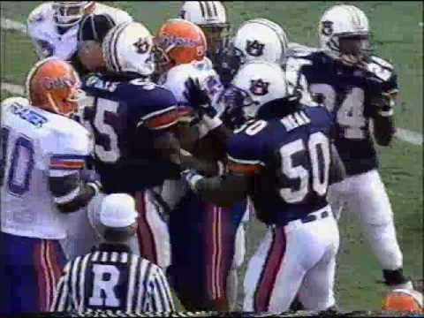 Florida Gators @ Auburn Tigers | 24-10 | October 18th, 1997