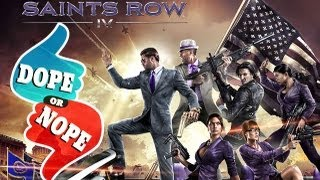 SUPER POWERS IN SAINTS ROW 4 (E3 2013 Dope! or Nope)