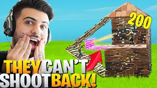 This BROKEN Peek Trick Let's You Get *FREE* ELIMS! (They Can't Shoot Back!) - Fortnite Battle Royale