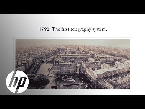 The History Of Telecommunications (In Just 3 Minutes) | HP Matter | HP