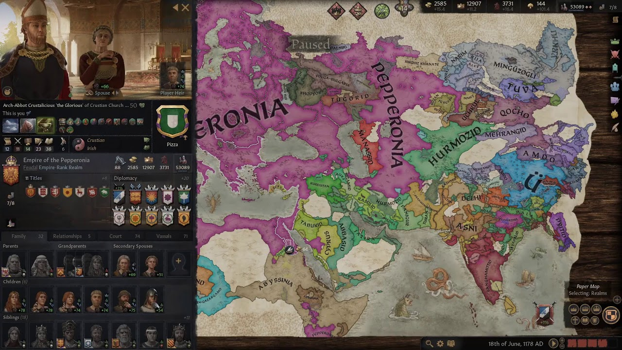 Download Crusader Kings III - A Family of Witches