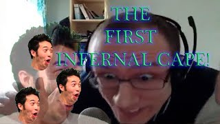 WOOX gets the first INFERNAL CAPE and THE INFERNAL MAX CAPE!!!
