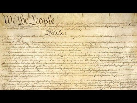 Let's Amend the Constitution... - YouTube
