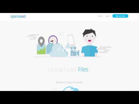 how to upload files in openload