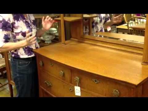 Antique furniture, Solid oak antique sideboard buffet, Gannon's Antiques & Art