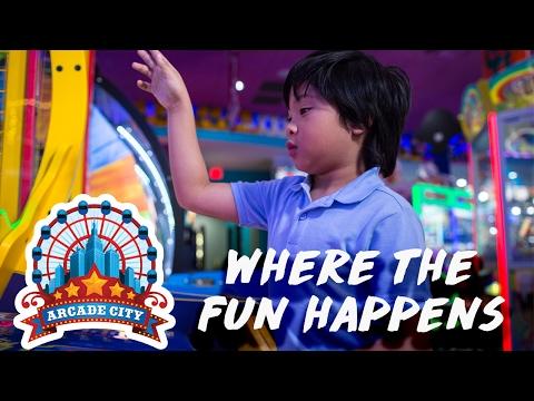Where Fun Happens | Arcade City Orlando, FL