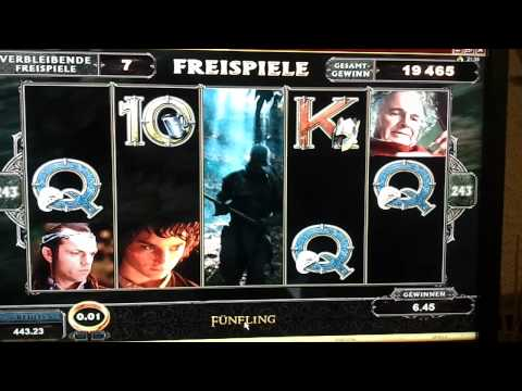 Lord Of The Rings Golden Tiger Casino ~200Euro Win