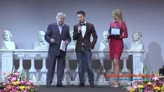 GIANLUCA MECH Ritira il premio Ambasciatore Internazionale del Sorriso