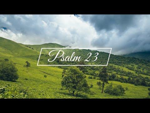 Psalm 23 - King James Version (KJV)