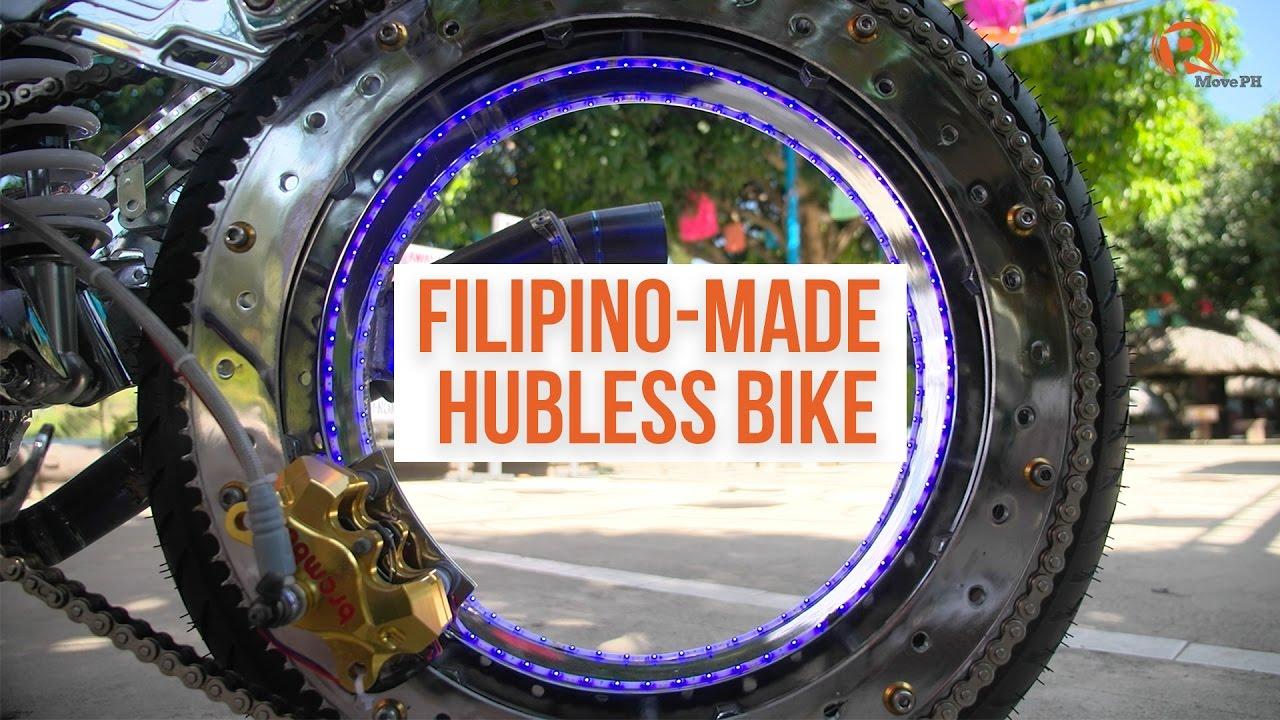 The Hubless Bike Shows Filipino Ingenuity Youtube