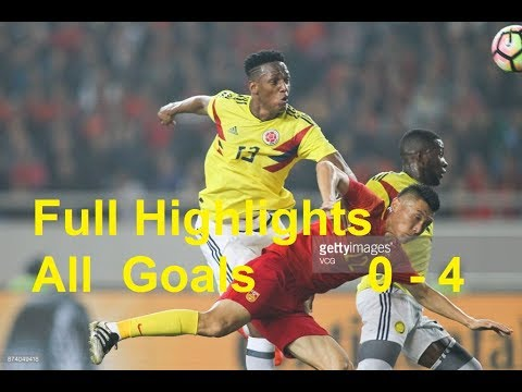 Download China vs Colombia 0-4 ● Full Highlights ● All Goals HD