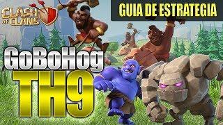 EJERCITO PARA GUERRA FÁCIL DE USAR EN TH9 GoBoHog | Ataques 3 Estrellas | Clash of Clans |