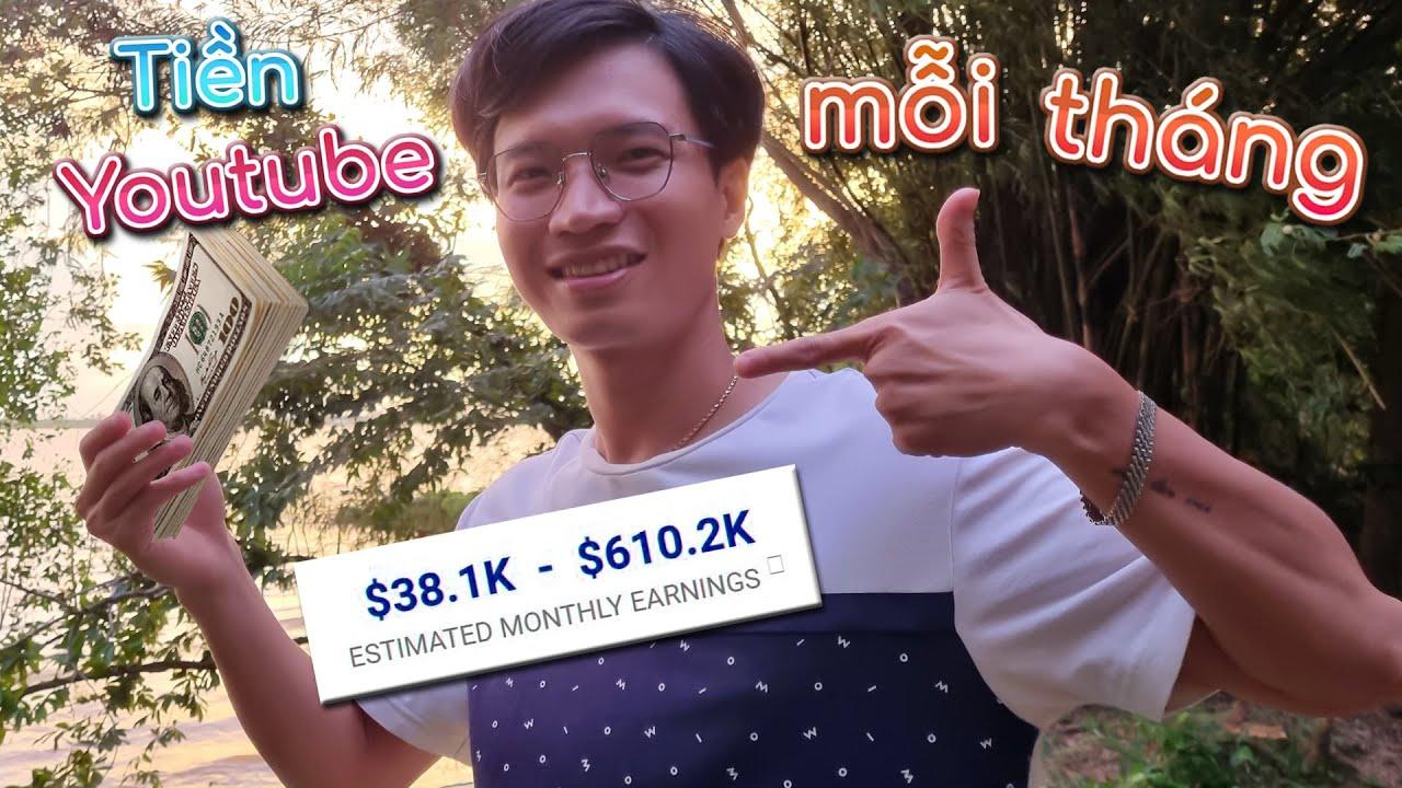 Tony Tiết Lộ Tiền Youtube Kiếm Được Mỗi Tháng - 𝐐 & 𝐀 #6