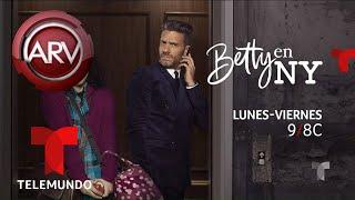 Así festejaron el fin de las grabaciones de Betty en NY | Al Rojo Vivo | Telemundo