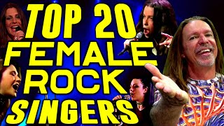 Top 20 Greatest Female Rock Singers Of All Time