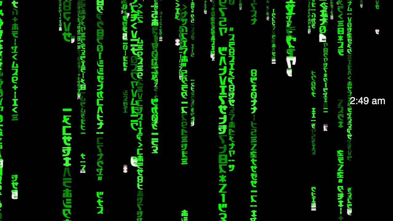 Transformers Animated Wallpaper Redpill Matrix Screen Saver For Macos Sierra 2016 Build