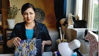 Хобби и творчество: моё рабочее место и материалы/My craft hobby materials