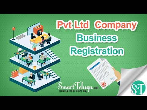 Pvt Ltd  Company Registration Telugu