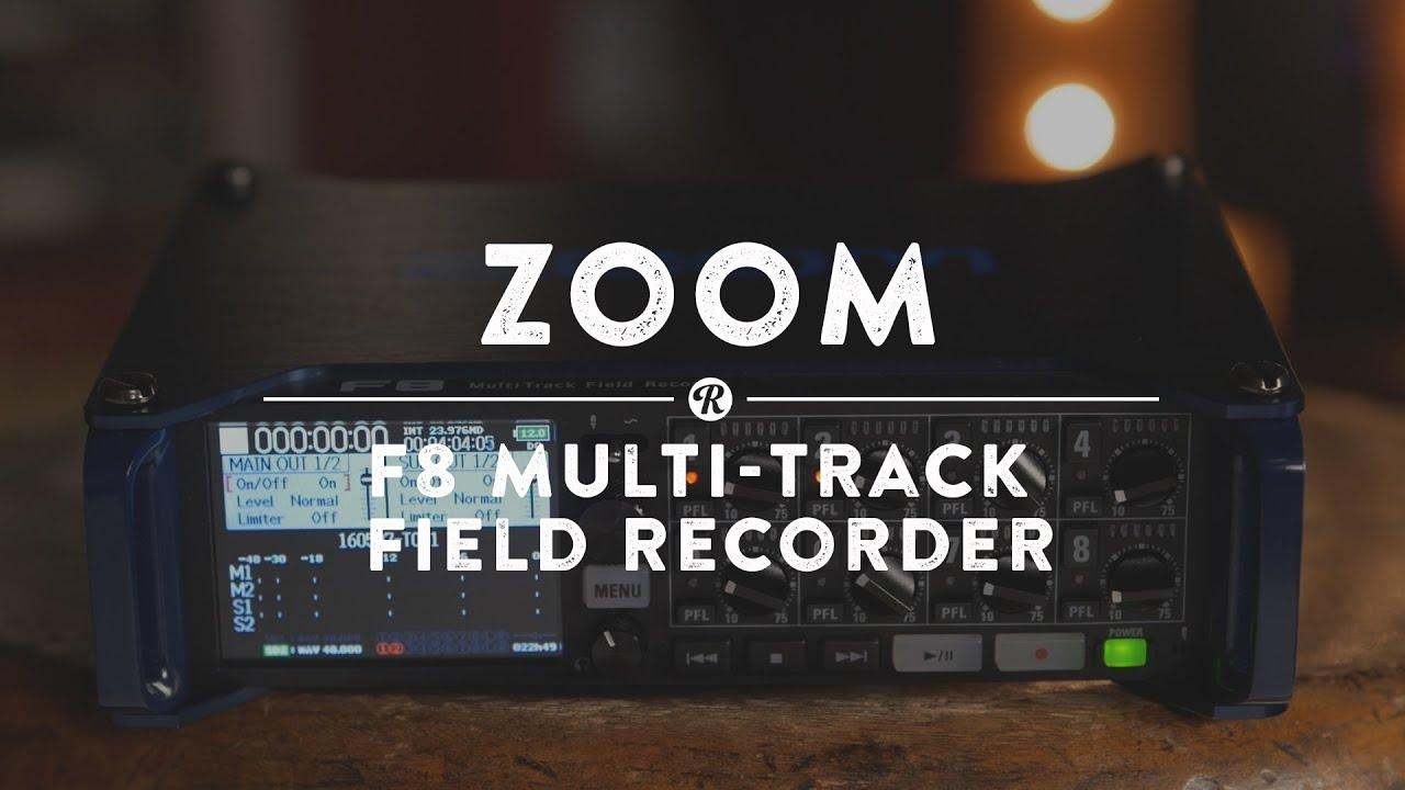 Video: Zoom H6 Handy Recorder & Zoom F8 Field | Reverb News