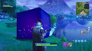 *THE FINAL* OF THE FORTNITE CUBE IS IN BALSA BUTTON *SEASON 6*