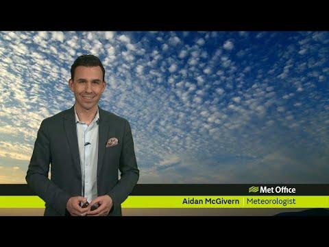 Friday evening forecast 13/04/2018