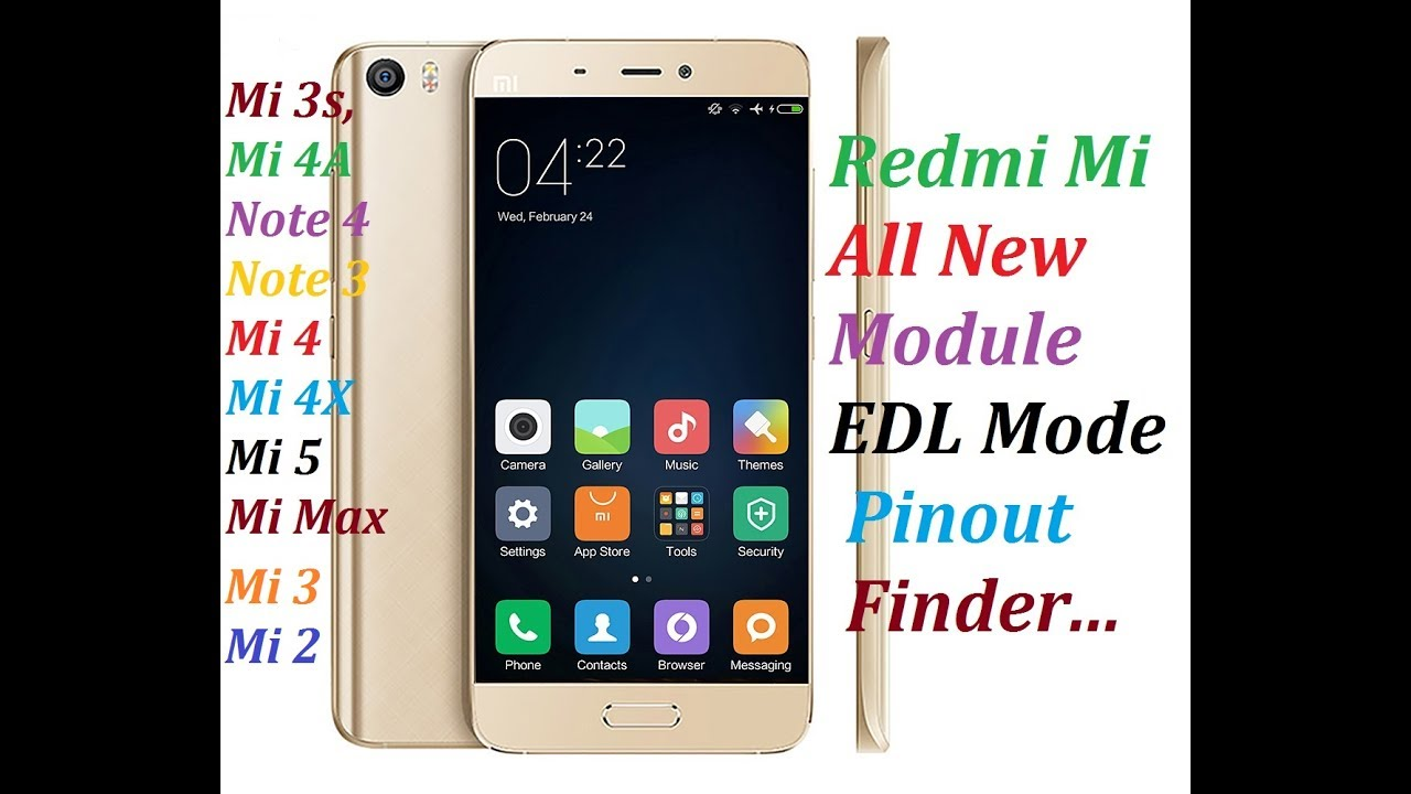 Xiaomi Redmi All Module EDL Mode Pinout Finder by Mobile Software Jugaad