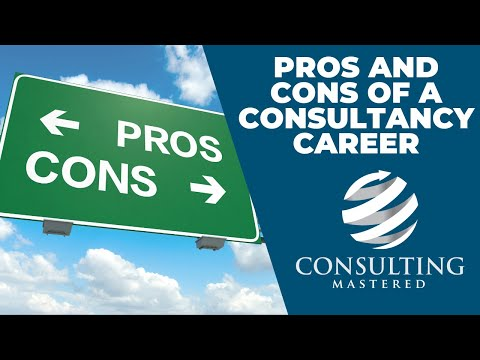 2 Mins: The Pros And Cons Of A Consultancy Career