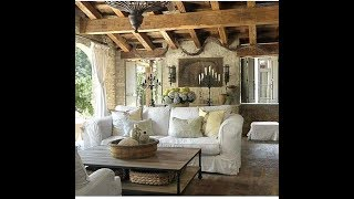 Rustic French Country Living Room Ideas