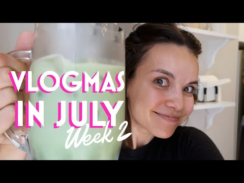 Podcast, DIY matcha & period underwear - VLOGMAS in July #2 | Ingrid Nilsen thumbnail