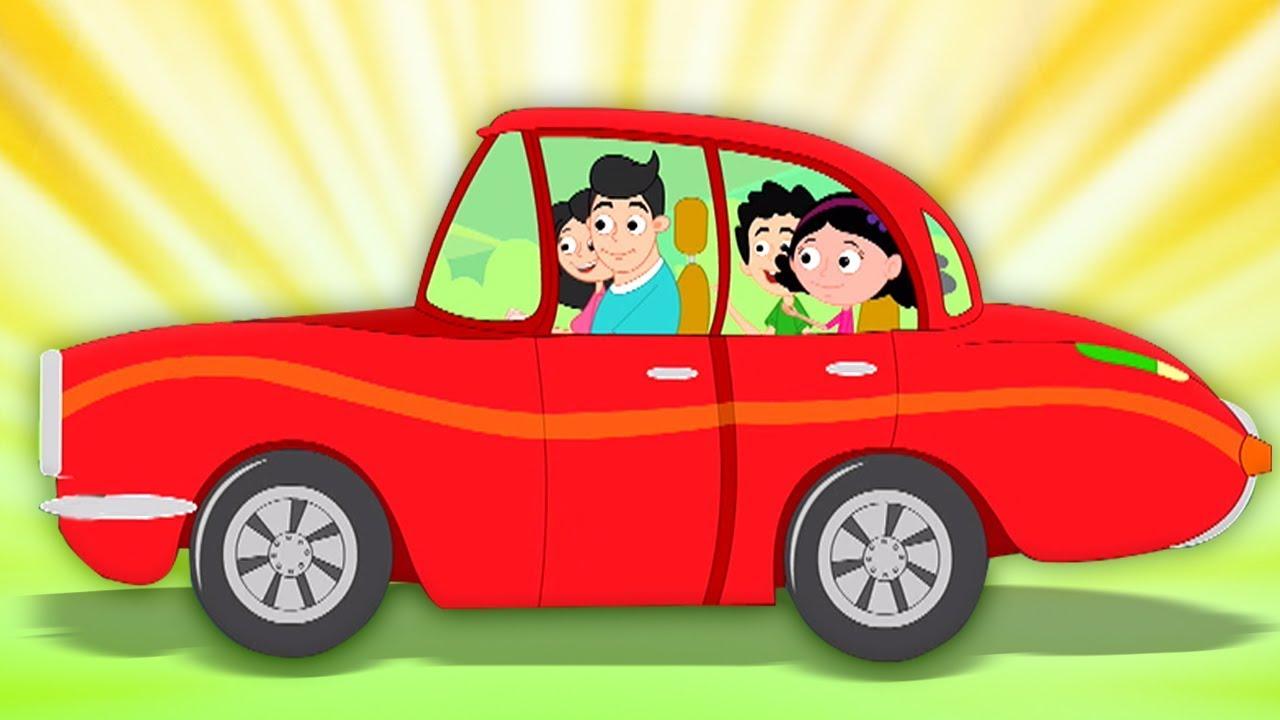 La Macchina Rossa Di Papa Canzone Per Bambini Daddy S Red Car Oh My Genius Italiano Youtube