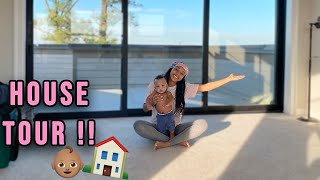 NEW HOUSE TOUR AS A YOUNG MOM