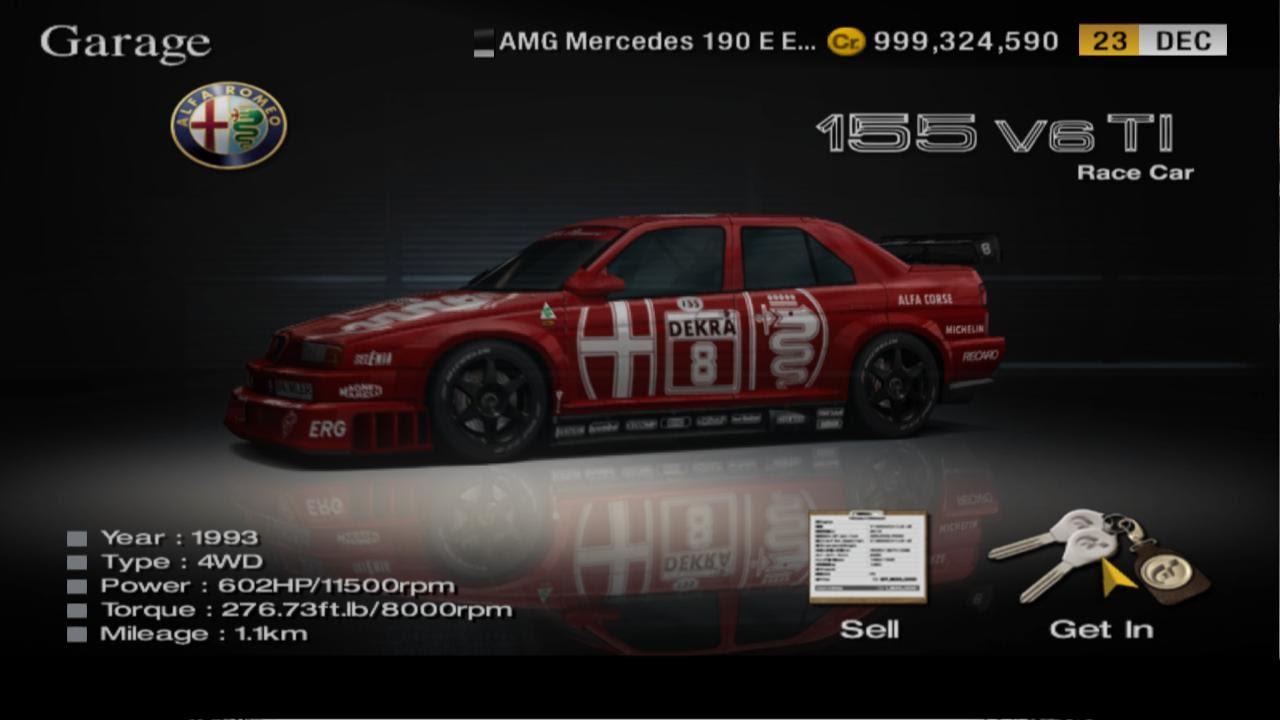 Alfa Romeo 155 V6ti ´93 DTM Race Car